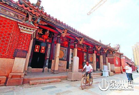 青阳庄氏家庙为七开间二进深建筑,规制崇宏。